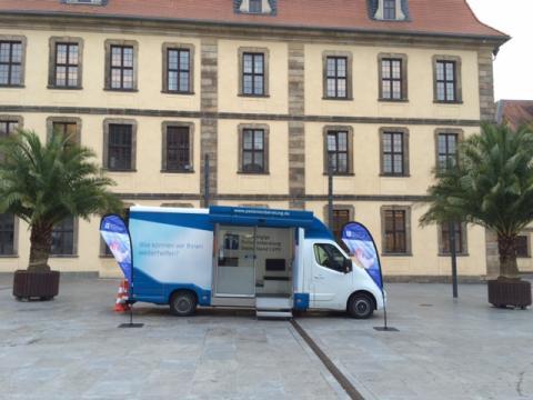 Beratungsmobil der Unabhängigen Patientenberatung kommt am 20. März nach Fulda.
