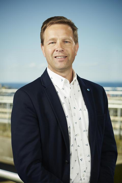 Jonas Håkansson, avdelningschef Dricksvatten, NSVA
