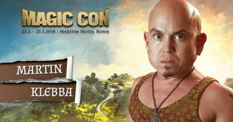MagicCon 2018: Martin Klebba (Marty) verstärkt die Pirates-Crew!