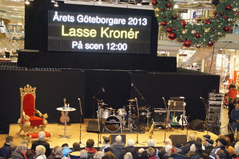 Årets Göteborgare 2013 Lasse Kronér