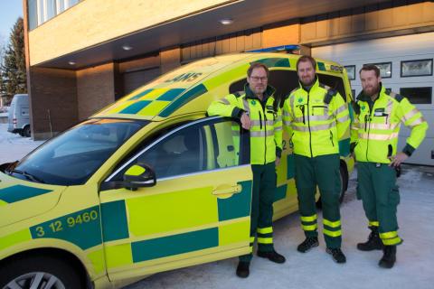 Personal ambulansen