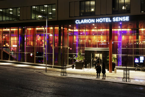 Clarion Hotel Sense i Luleå är Clarion Hotel of the Year 2015 Scandinavia.