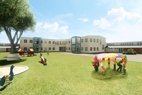 Halmstad Kommun ger BAB förtroendet att bygga om Linehedsskolan
