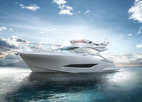 プレミアムボート 「EXULT 43」 新発売 洗練された優雅なデザイン、最高レベルの走行性能