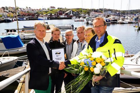 Strömstad utsedd till Årets Båtkommun