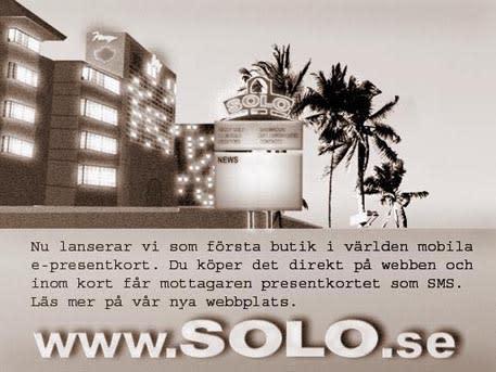 Världspremiär på SOLO