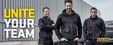 Unite your team – Neues Produkt- und Farbkonzept für Service- und leichte Handwerksarbeiten von Blåkläder