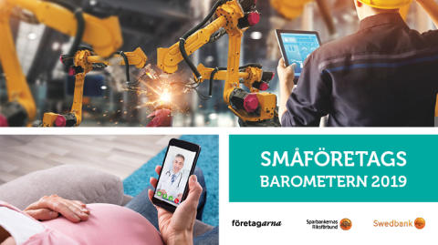 Konjunkturen för småföretagen i Skaraborg är starkast i länet