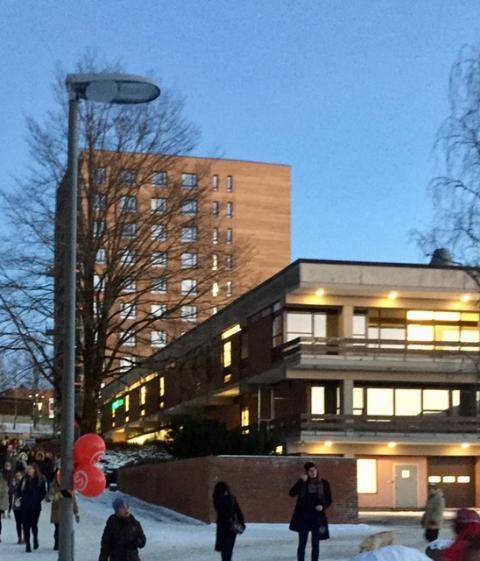 SiO Athletica til Kringsjå Studentby