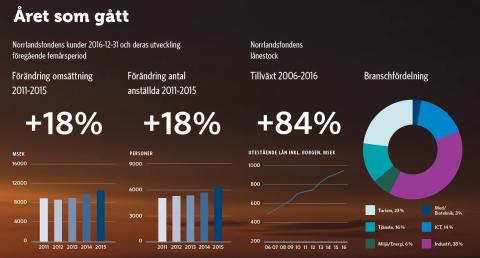 Norrlandsfonden sammanfattar rekordåret 2016