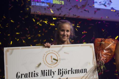 Milly Björkman vann Gotlands Reklamrookie 2013