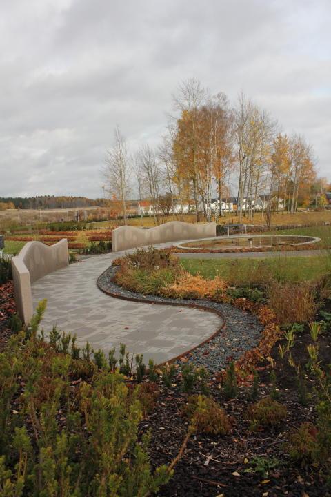 Järfälla: Järfälla kyrkas nya kyrkogård