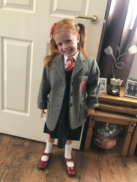 Ava survives liver transplant to attend school this August