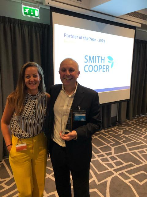 Smith Cooper System Partners scoops prestigious award