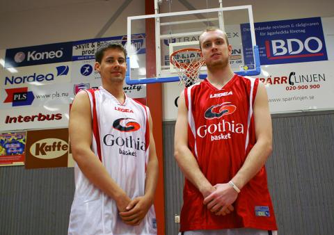 Emil Salon och Kim Palmqvist