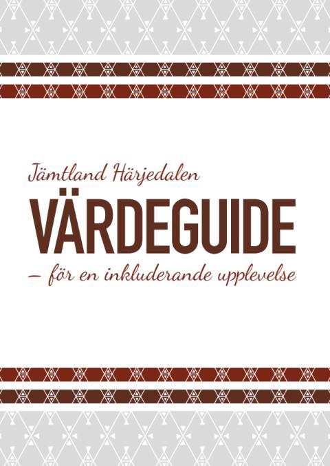 Värdeguide – för en inkluderande upplevelse i Jämtland Härjedalen
