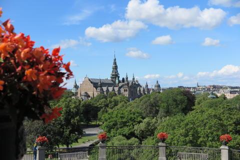 Nu rullar info från Djurgården ut till alla hotell - Stockholms grönaste ö i samarbete med Sveriges grönaste åkeri