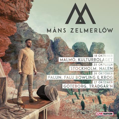 Måns Zelmerlöw tour