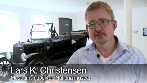 FORD ER KOMMET PÅ NATIONALMUSEET