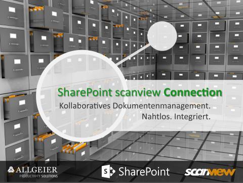 Intelligentes Dokumentenmanagement mit der SharePoint – scanview® Connection