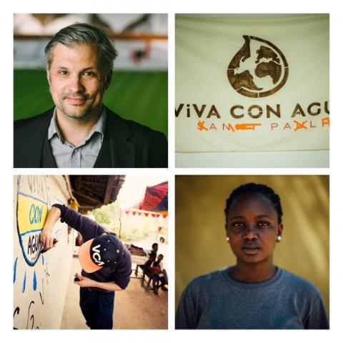 Viva con Agua entsendet Uganderin & Mitbegründer zur Stockholm World Water Week: Sheila Ruyondo & Chris Wiebe