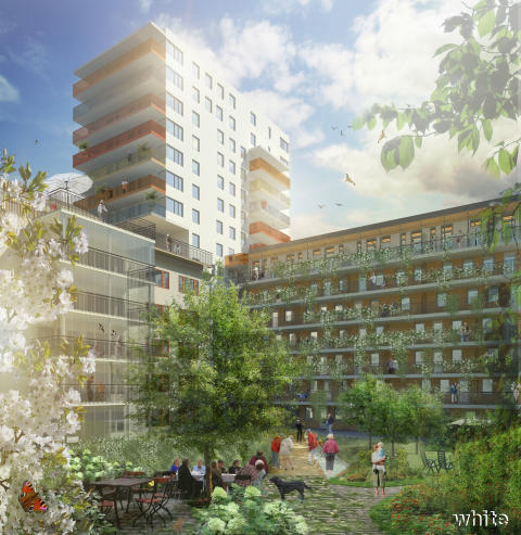 Snart öppnar Humanas nya äldreboende i Gävle