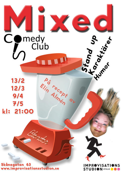 Mixed Comedy Club – ny stand up-klubb på söder