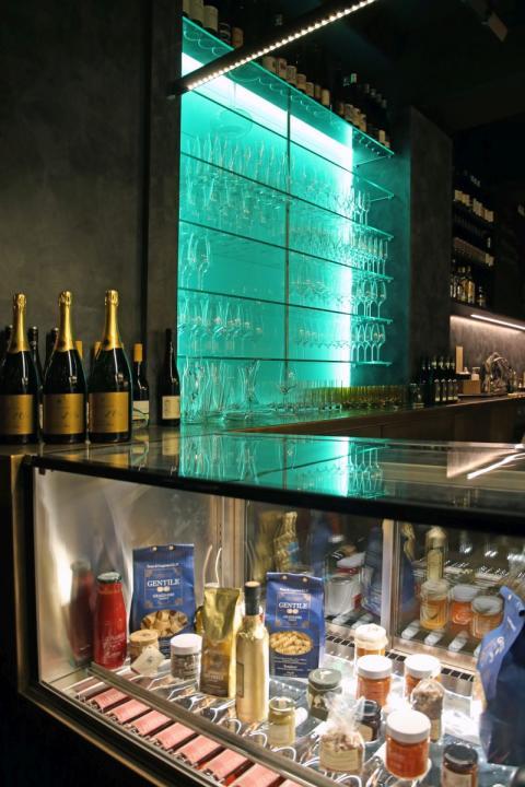 Die Weinbar des Château9 in Leipzig