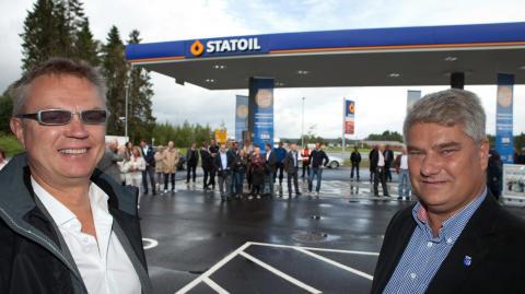 Østfolds mest moderne bensinstasjon åpnet på Sekkelsten