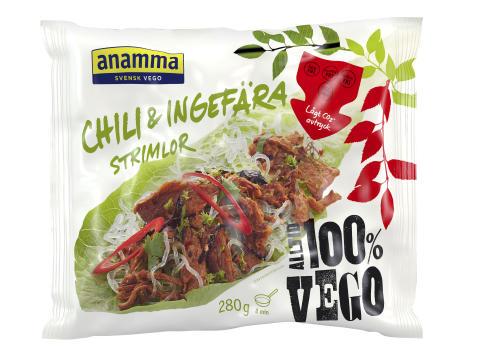 Anammas Chili & Ingefär strimlor