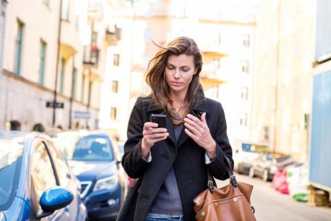 På disse dage er vi mest (og mindst) på mobilen