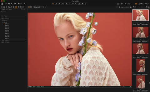 Capture One 11.1 insert Spring Styles