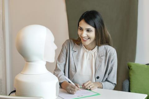 Tengai - the unbiased social job interview robot