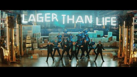 NetOnNet slipper musikkvideo sammen med Backstreet Boys