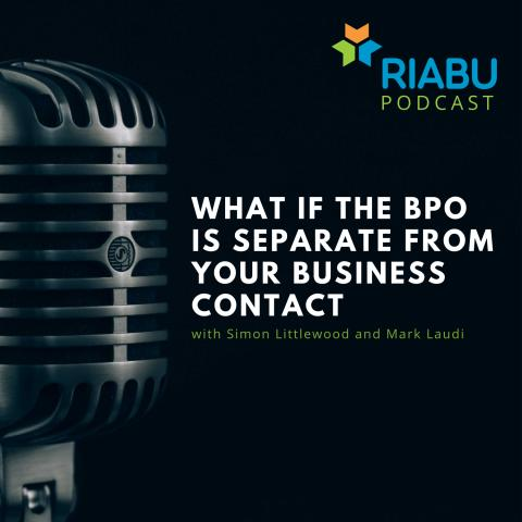 What if the BPO is separate from your business contact