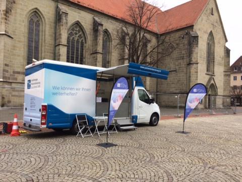 Beratungsmobil der Unabhängigen Patientenberatung kommt am 07. Januar nach Hamm