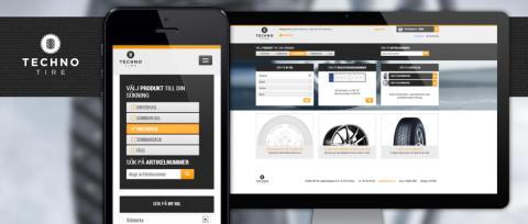 Techno Tire revolutionerar däckmarknaden med B2B e-handel
