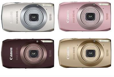 Stil och känslighet - Canon introducerar IXUS 310 HS