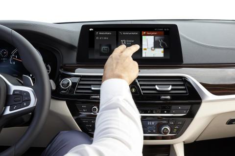 BMW 5-serie Sedan - håndfri betjening af iDrive