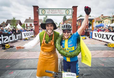 Jennie Stenerhag vann Cykelvasan 90 2017