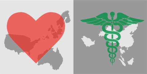 What the world most wants: in the West, love; in the East, health