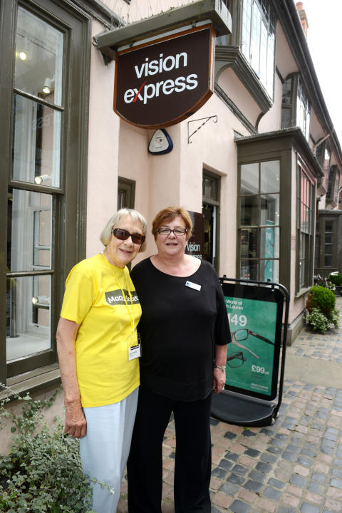 New vision for Oxford as refurbished optical store opens, aiming to increase awareness of preventable sight loss