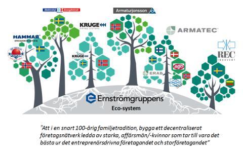 Ernströmgruppen överträffar tidigare års rekordresultat