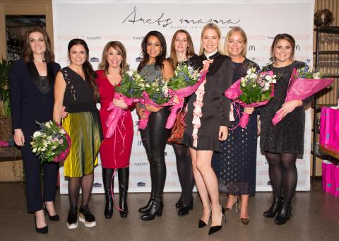 Elaine Eksvärd utsedd till Årets viktigaste mama