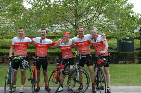 Die Redbach 500-Teilnehmer aus Santander Deutschland