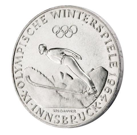 OS-minnesmynt Innsbruck 1964