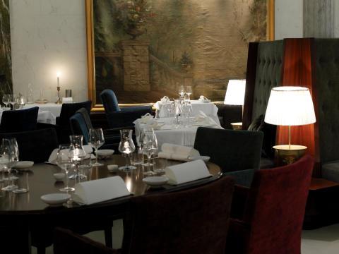 Rustik italienare finns på Hotel Stureplan