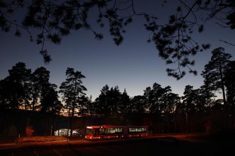 Bättre nattrafik för Täbyresenärer