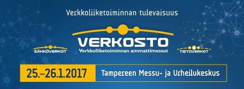 Verkosto 2017 -messut Tampereella 25.–26.1.2017