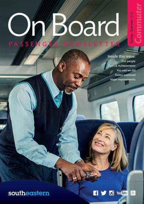 On Board Newsletter - Spring / Summer 2015